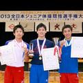 2013全日本ジュニア体操競技選手権大会(男子結果)