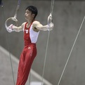 第69回全日本体操種目別メダリスト「つり輪」(銀・銅)