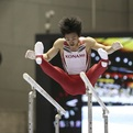 第69回全日本体操種目別メダリスト「平行棒」(銀・銅)