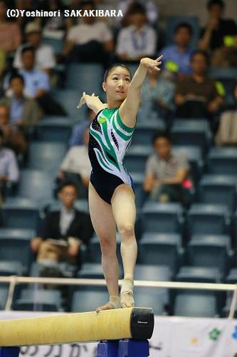 高校女子体操 水戸女子高等学校
