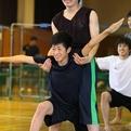 男子新体操選手指導者合同合宿(関東会場模範演技)