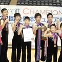 2014全日本ジュニア/男子団体優勝「北海道新体操クラブ恵庭」