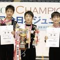 2014全日本ジュニア/男子個人メダリスト
