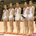 第15回全日本クラブ団体選手権~ジュニア2位「アンジュ」