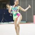第25回全日本新体操クラブ選手権ジュニア3位「花房優来(世田谷RG)」