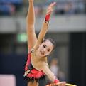 第25回全日本新体操クラブ選手権シニア2位「猪又涼子(ポーラ☆スターRG)」