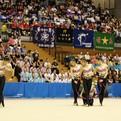 昭和学院中高校新体操部、文化祭で演技発表!