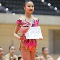 第9回アジア新体操選手権日本代表/柴山瑠莉子(イオン)