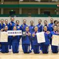 2017全日本学生選手権女子団体準優勝/日本体育大学