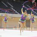ユニバーシアード新体操競技1日目/団体3位スタート! 立澤、河崎がフープで決勝進出!