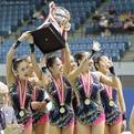 第70回全日本新体操選手権種目別「ボール&ロープ」表彰