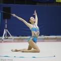 「藤岡里沙乃(東京女子体育大学)」~第70回全日本新体操選手権種目別ボール3位/リボン2位