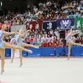 昭和学院高校文化祭で新体操部が演技披露!