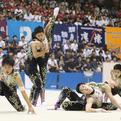 スポーツナビが、高校総体男子新体操団体演技を配信!