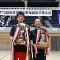 第70回全日本インカレ男女個人総合優勝者