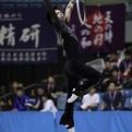 第71回全日本新体操選手権男子個人総合前半種目首位