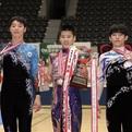 第36回全日本ジュニア男子個人総合優勝&メダリスト