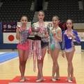 第36回全日本ジュニア女子個人総合優勝&メダリスト