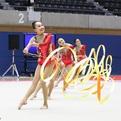 アジアジュニア新体操選手権日本代表団体~選抜ジュニア