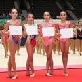 アジアジュニア新体操選手権日本代表選手