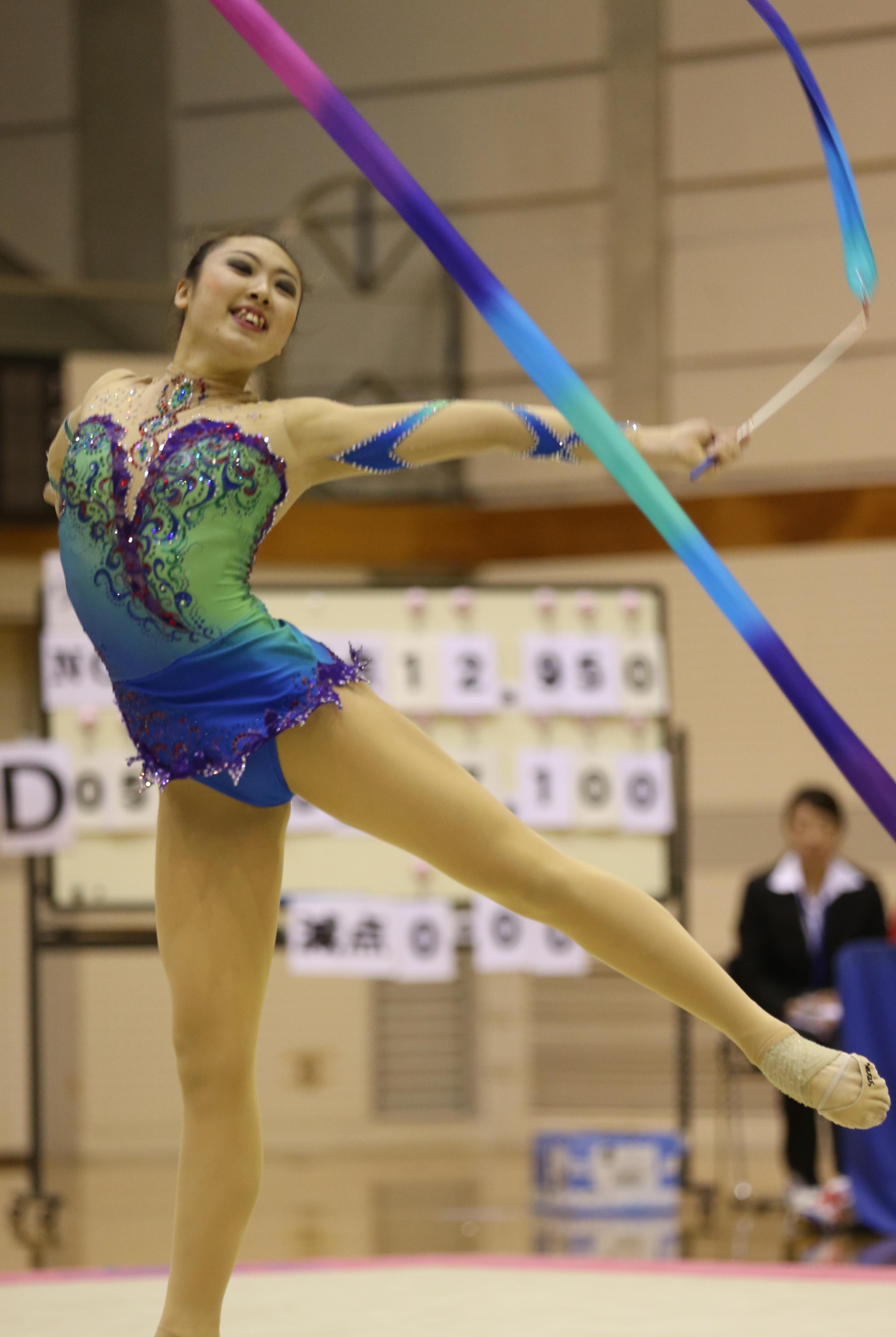 女子体操 2013全日本新体操選手権大会試技順(女子1~10番)